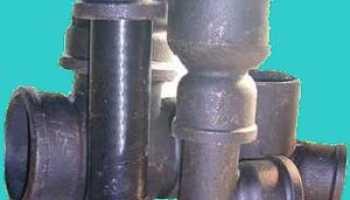 Классификация и применение чугунных труб