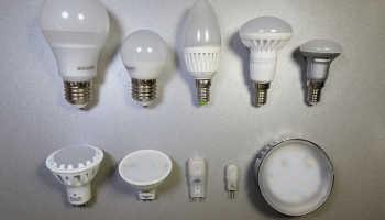 Мощность диодных ламп по сравнению с обычными