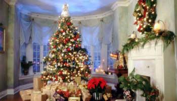Тонкости декора новогоднего камина