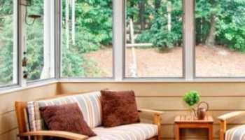 Деревянные рамы для веранд и террас: преимущества и недостатки