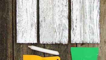 Белая краска для дерева с сохранением текстуры