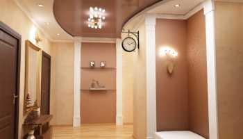 Какой потолок сделать в коридоре?