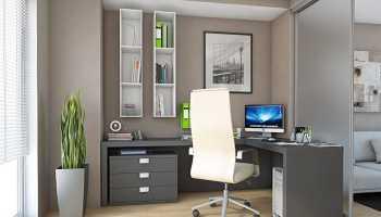 Белые угловые компьютерные столы: виды и особенности выбора