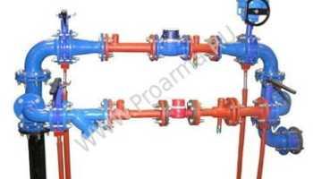 Как устроен водомерный узел?