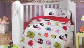 Выбор ткани для детского постельного белья