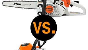 Какая пила лучше: электрическая или бензиновая?