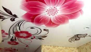 Наклейки на потолок: разновидности и характеристики