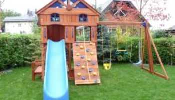 Детские горки: виды, советы по выбору и изготовлению