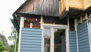 Чем обшить дом из бруса снаружи: красивая защита деревянных стен