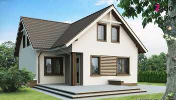 Двухэтажный дом размером 7×7 м: интересные варианты планировки