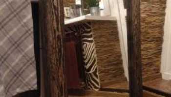 Зеркала в деревянных рамах: интересные формы
