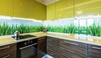 Идеи и варианты дизайна скинали для кухни