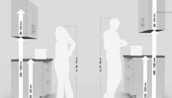 Как крепить заднюю стенку кухни