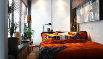 Узкие спальни как сделать удобно и красиво
