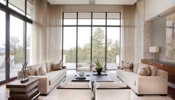 Большие окна – много света и воздуха