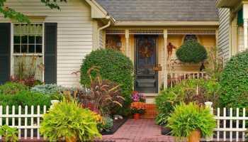 Каким должен быть ландшафтный дизайн участка перед домом?