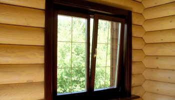 Тонкости установки окон в деревянном доме