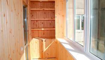 Как сделать полки на балконе?