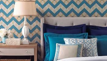 Как оклеить спальню в современном стиле