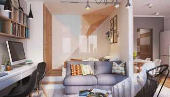 Как отделить зону спальни в однокомнатной квартире