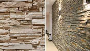 Как крепится декоративный камень в квартире