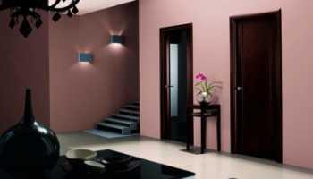 Межкомнатные двери цвета венге: варианты оттенков в интерьере