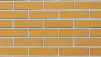Облицовочный желтый кирпич: особенности, свойства и применение