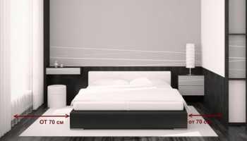 Как спланировать спальню в маленькой комнате